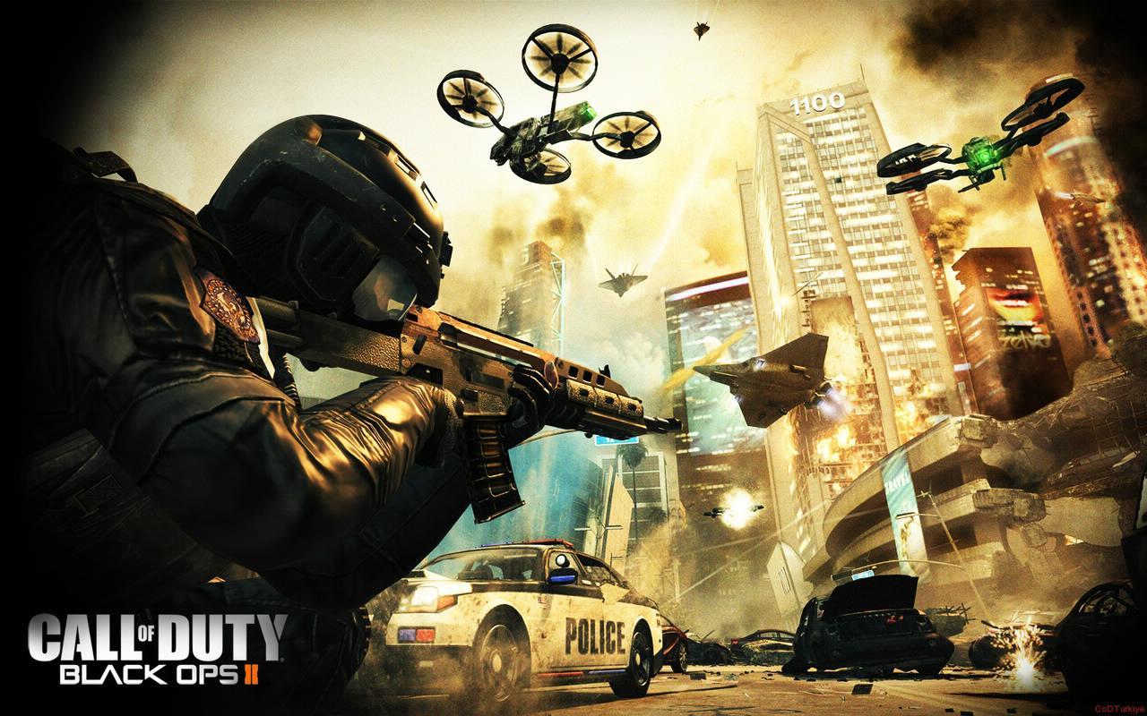 Call of Duty 9 Black Ops 2 Wallpapers HD Duvar Kağıtları