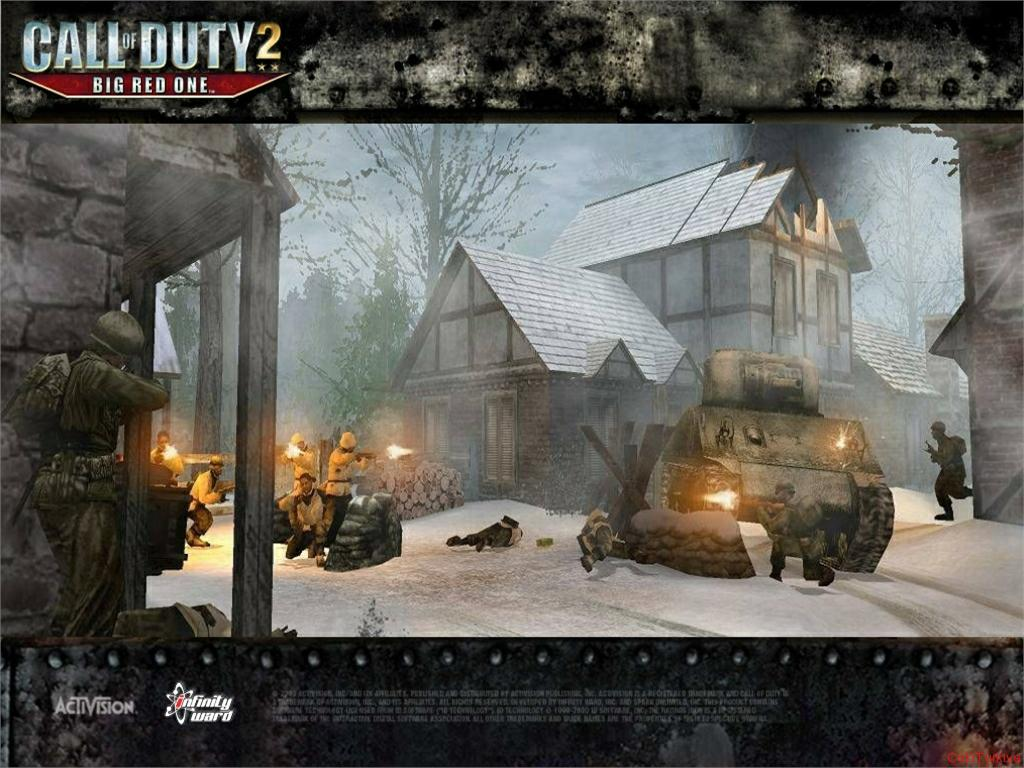Call of Duty 2 Big Red One Wallpaper 1