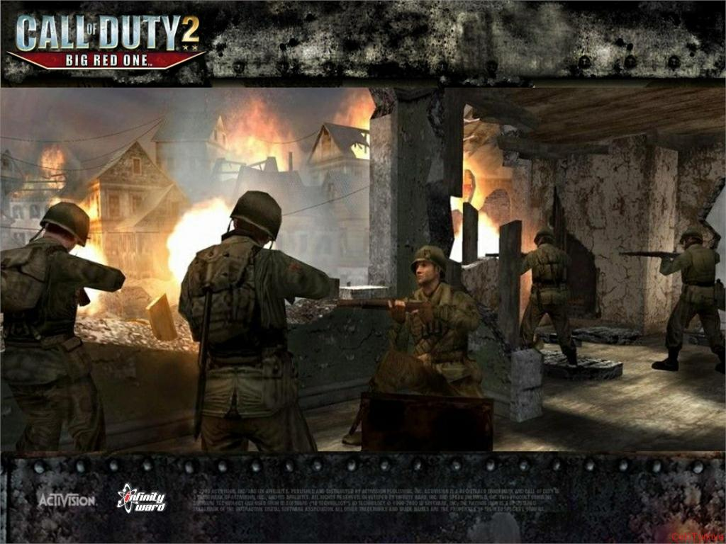 Call of Duty 2 Big Red One Wallpaper 10