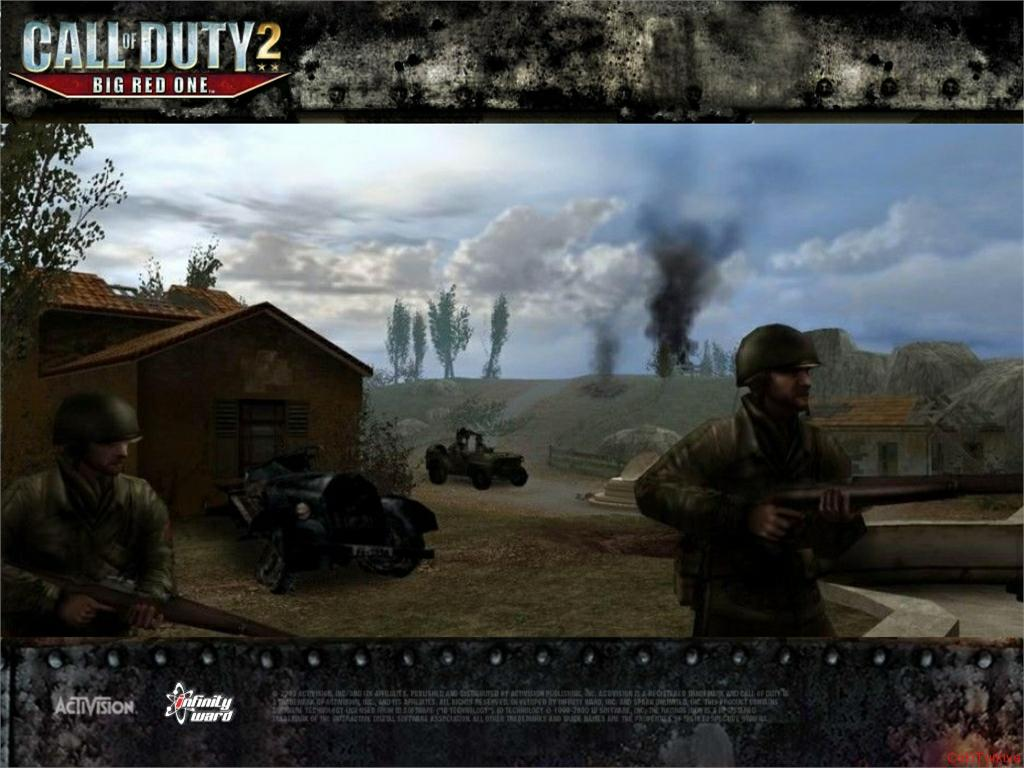 Call of Duty 2 Big Red One Wallpaper 11