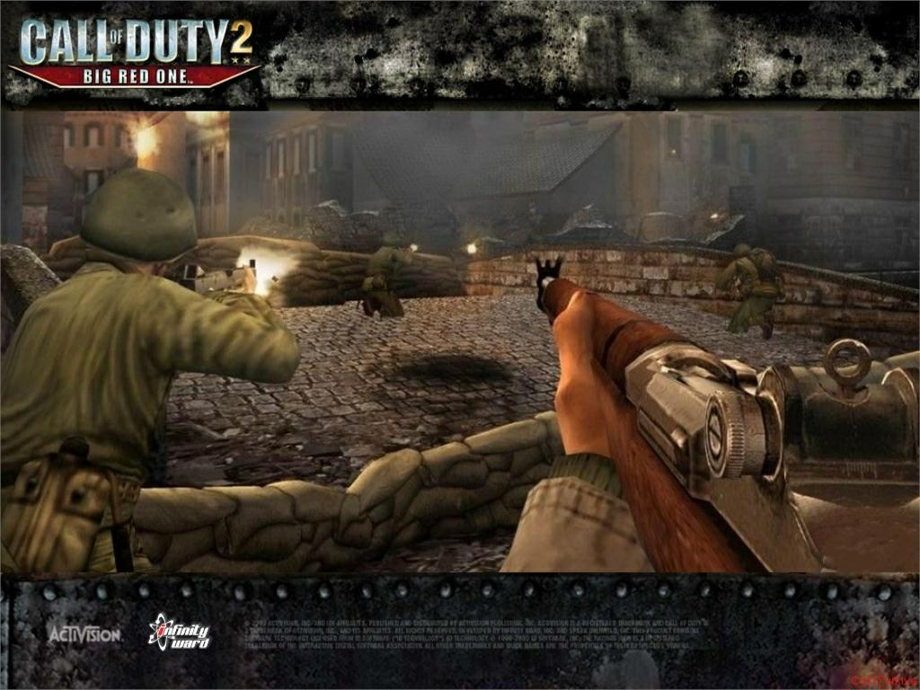 Call of Duty 2 Big Red One Wallpaper 12