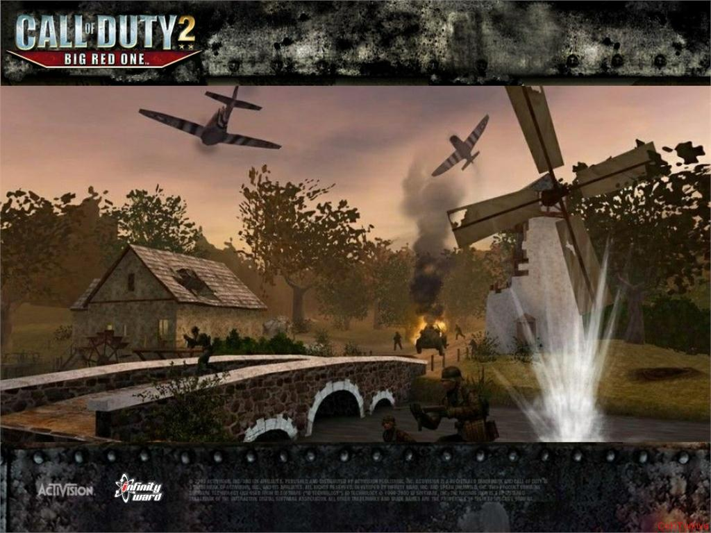 Call of Duty 2 Big Red One Wallpaper 13