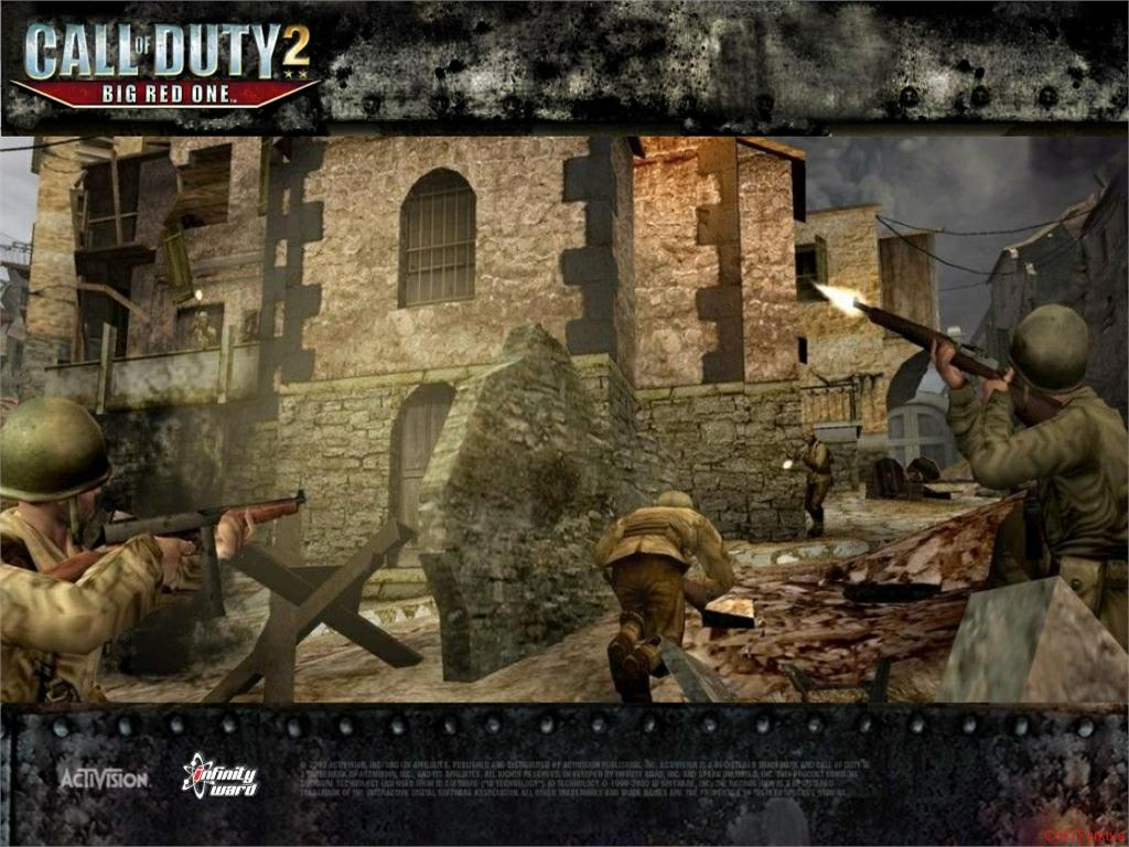 Call of Duty 2 Big Red One Wallpaper 14