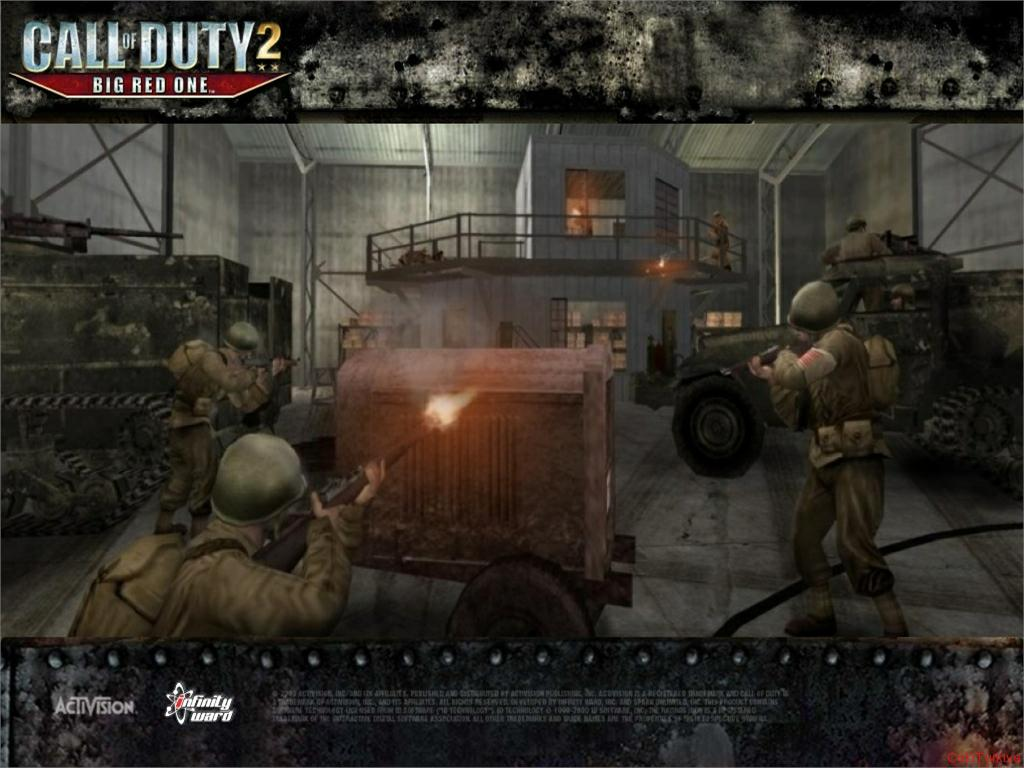 Call of Duty 2 Big Red One Wallpaper 16