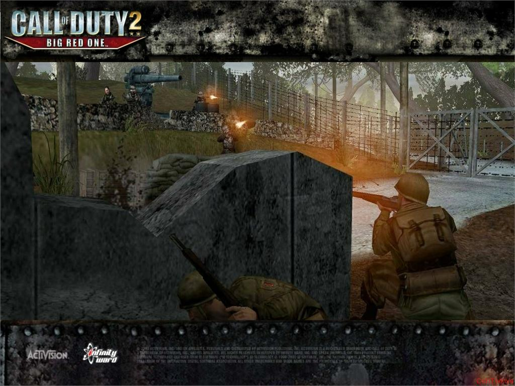 Call of Duty 2 Big Red One Wallpaper 2
