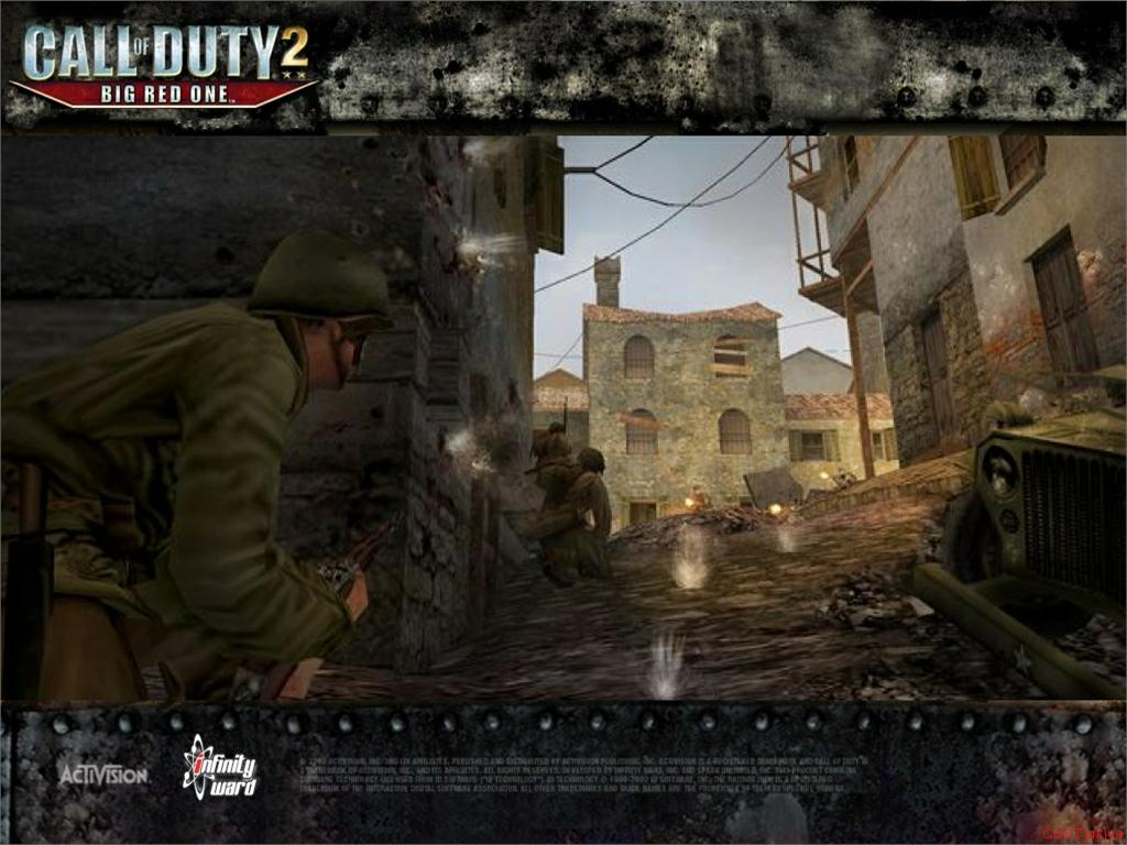 Call of Duty 2 Big Red One Wallpaper 22