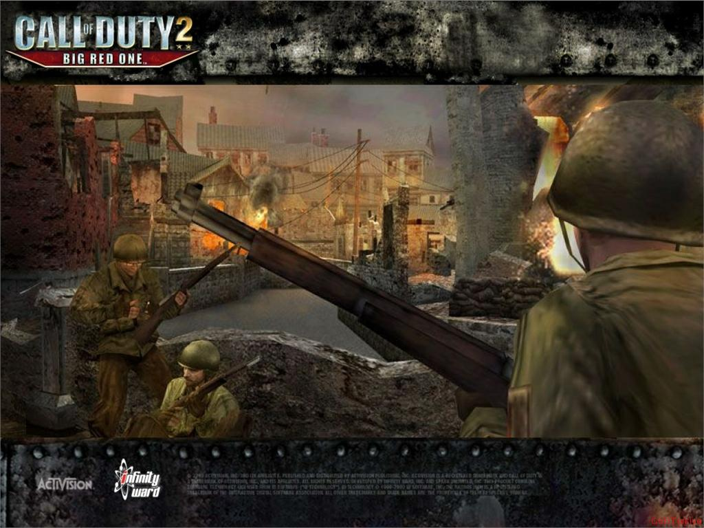Call of Duty 2 Big Red One Wallpaper 23