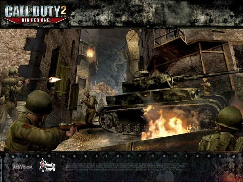 Call of Duty 2 Big Red One Wallpaper 24