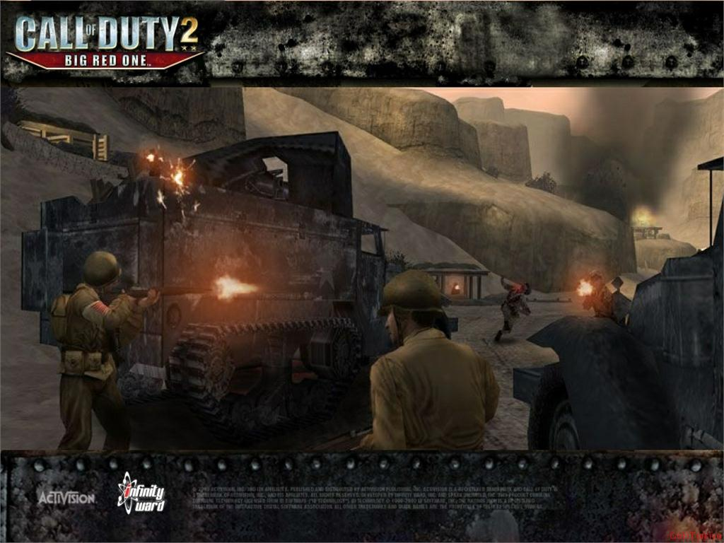 Call of Duty 2 Big Red One Wallpaper 25