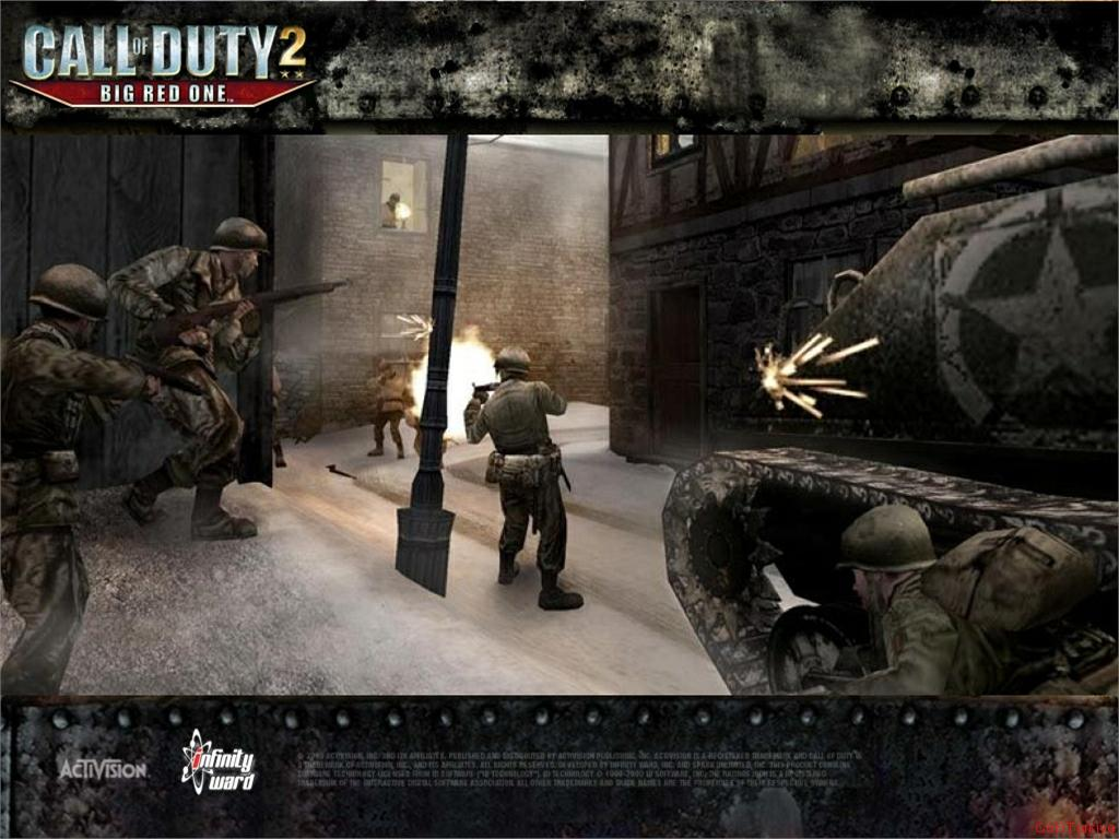 Call of Duty 2 Big Red One Wallpaper 26
