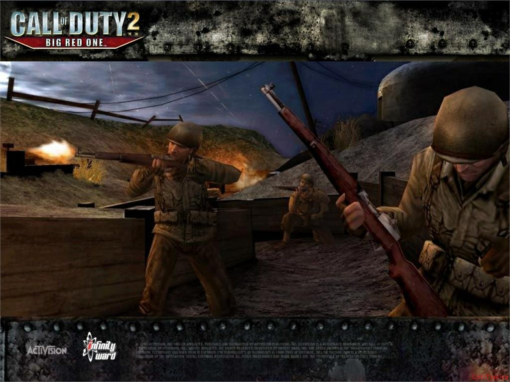 Call of Duty 2 Big Red One Wallpaper 27