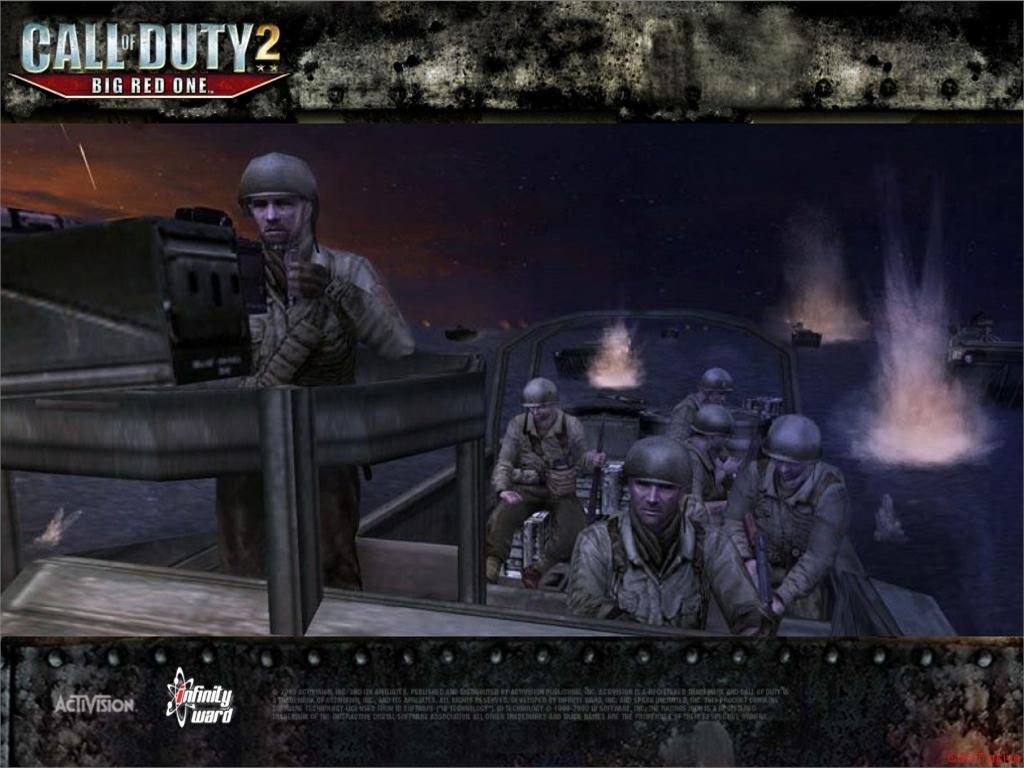 Call of Duty 2 Big Red One Wallpaper 28