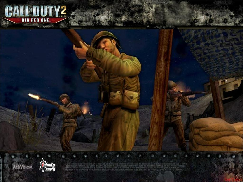 Call of Duty 2 Big Red One Wallpaper 29