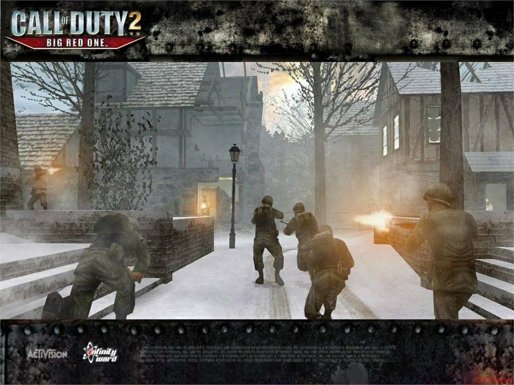 Call of Duty 2 Big Red One Wallpaper 3