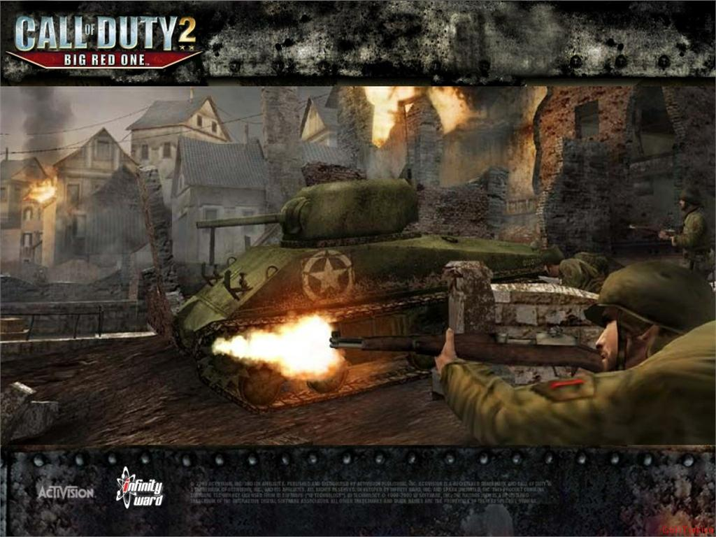 Call of Duty 2 Big Red One Wallpaper 30