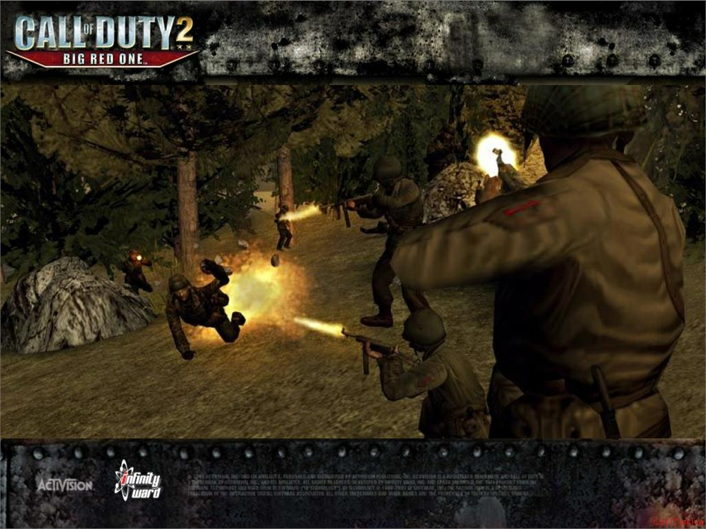 Call of Duty 2 Big Red One Wallpaper 33