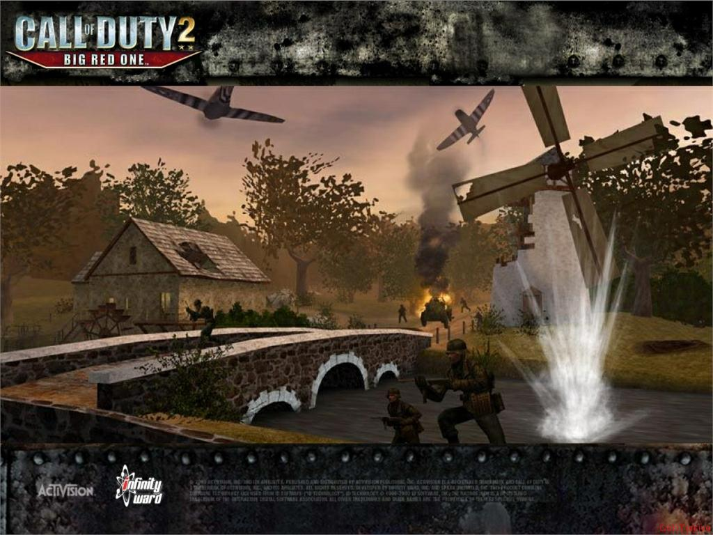Call of Duty 2 Big Red One Wallpaper 34