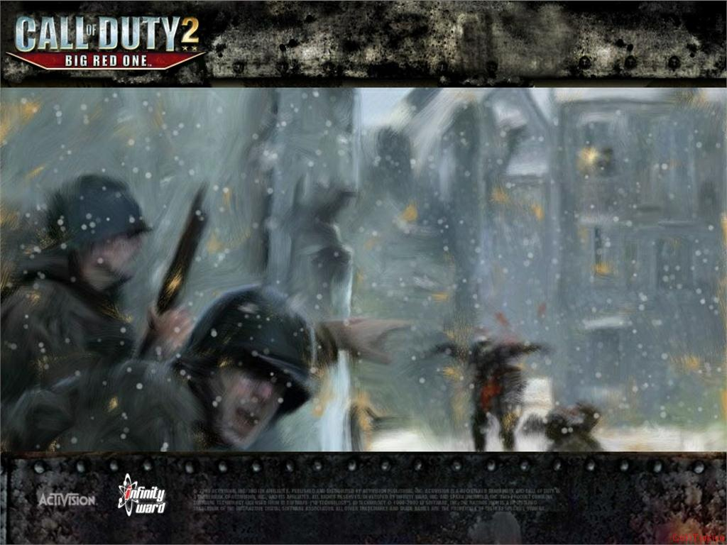 Call of Duty 2 Big Red One Wallpaper 35
