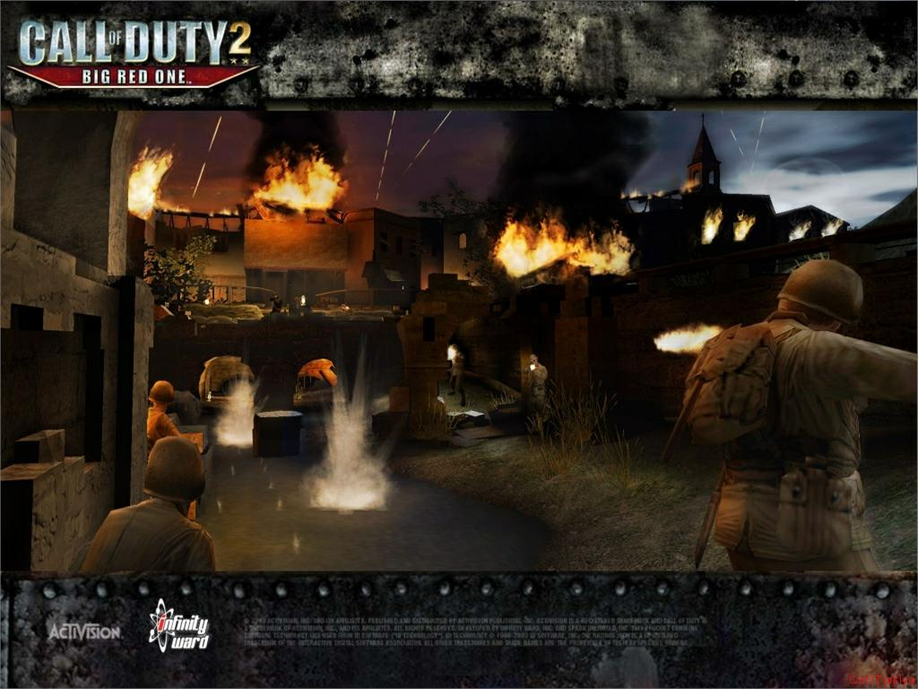 Call of Duty 2 Big Red One Wallpaper 36
