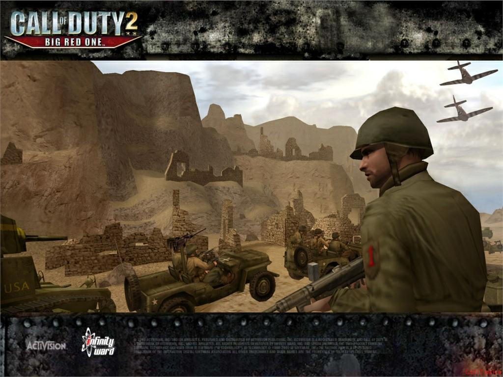 Call of Duty 2 Big Red One Wallpaper 37