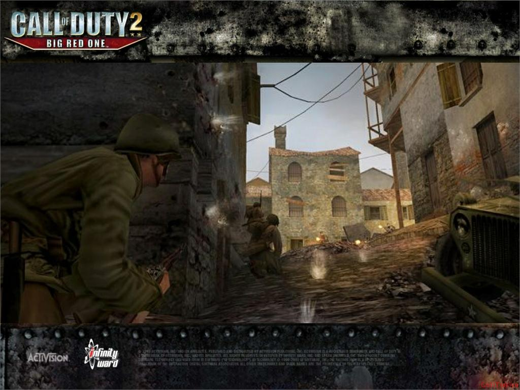 Call of Duty 2 Big Red One Wallpaper 38