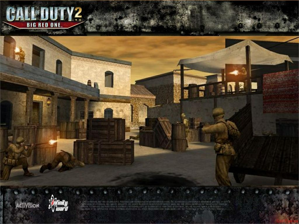 Call of Duty 2 Big Red One Wallpaper 39