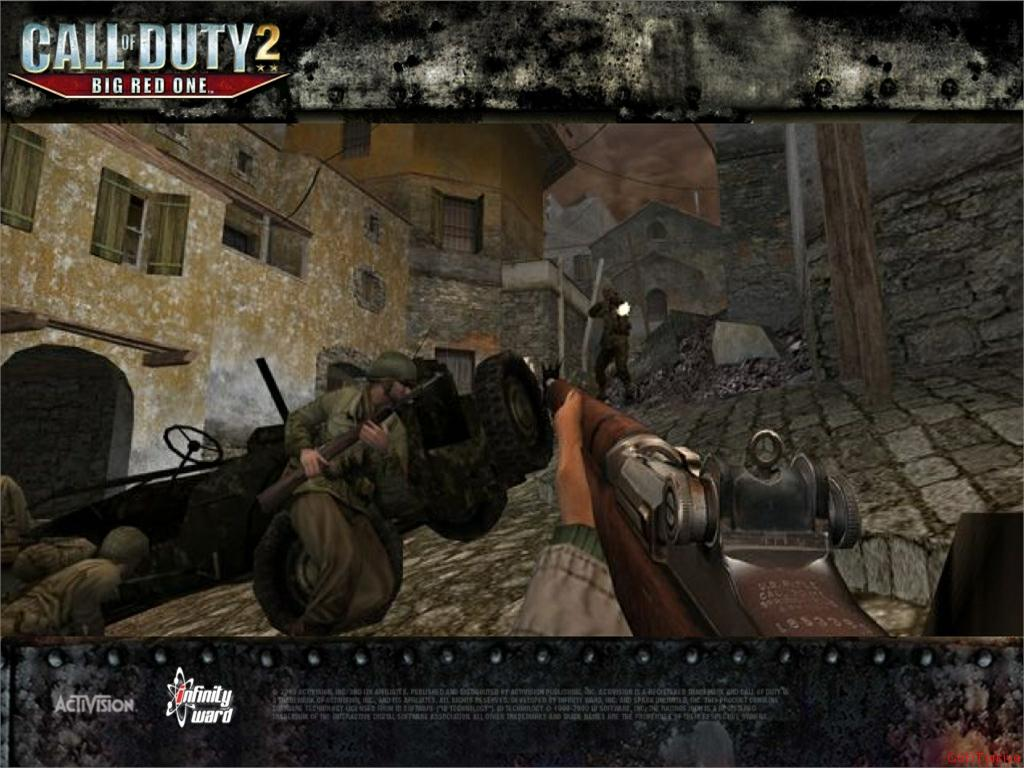 Call of Duty 2 Big Red One Wallpaper 40
