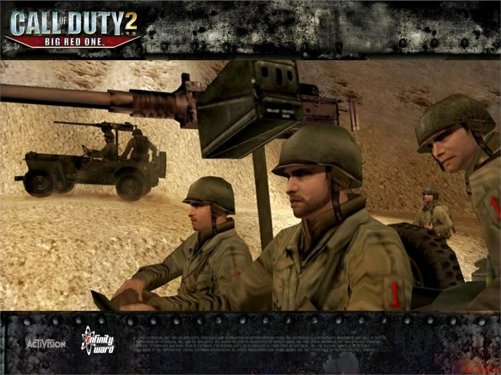 Call of Duty 2 Big Red One Wallpaper 41