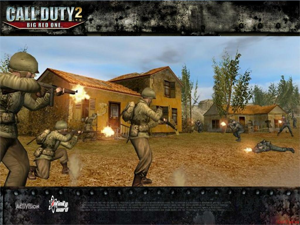 Call of Duty 2 Big Red One Wallpaper 42