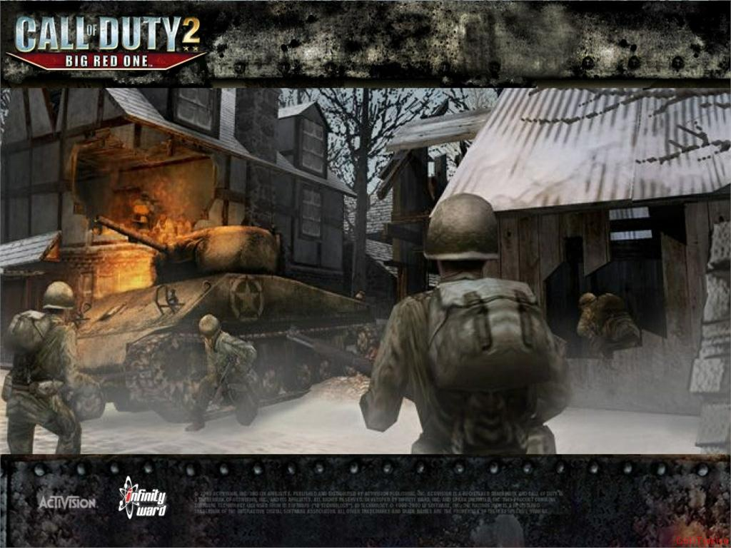 Call of Duty 2 Big Red One Wallpaper 43