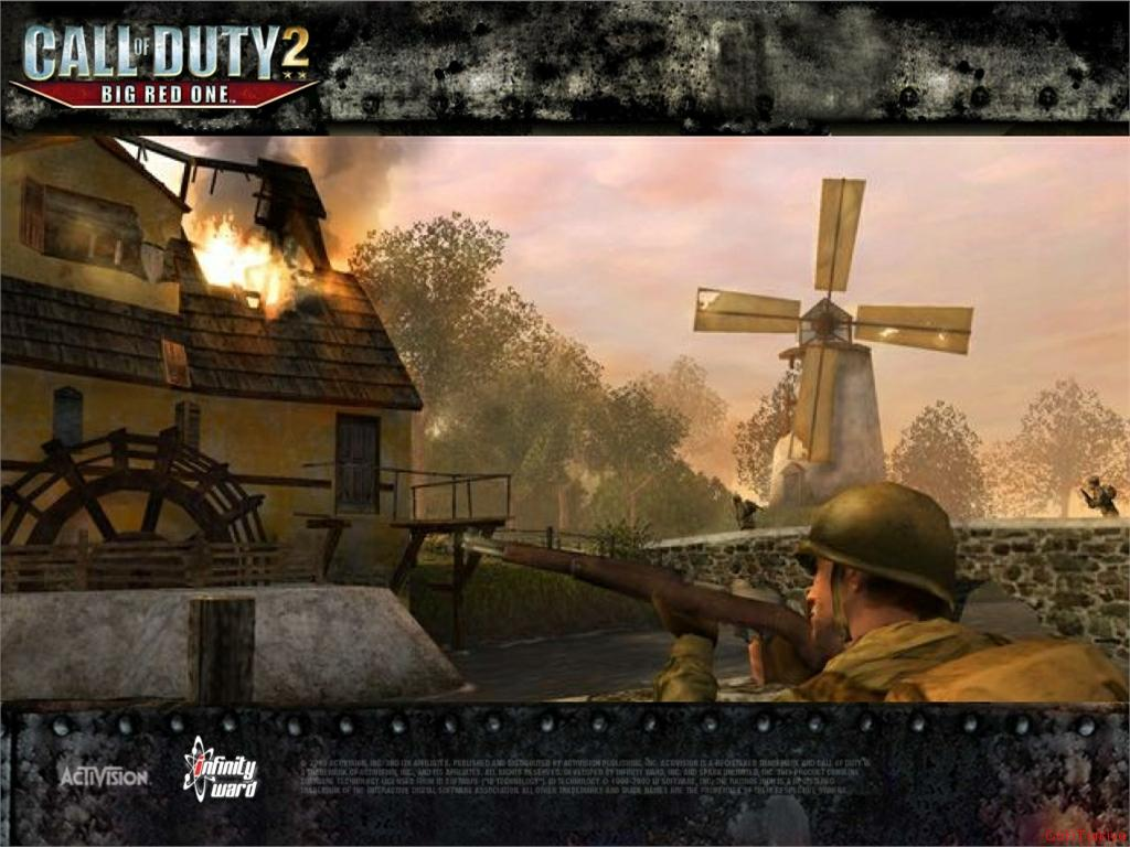 Call of Duty 2 Big Red One Wallpaper 44