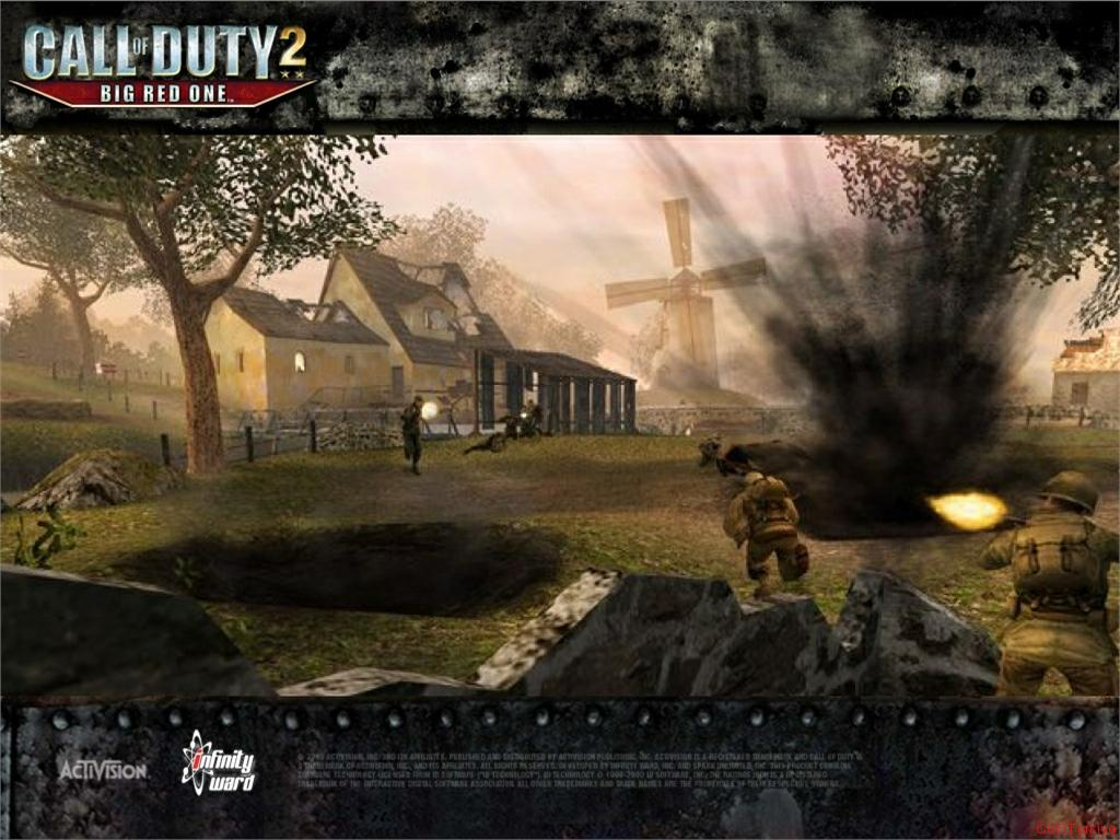 Call of Duty 2 Big Red One Wallpaper 45