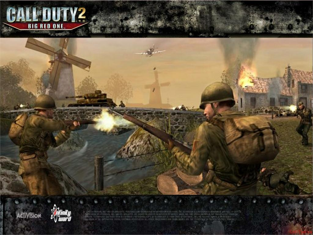 Call of Duty 2 Big Red One Wallpaper 46