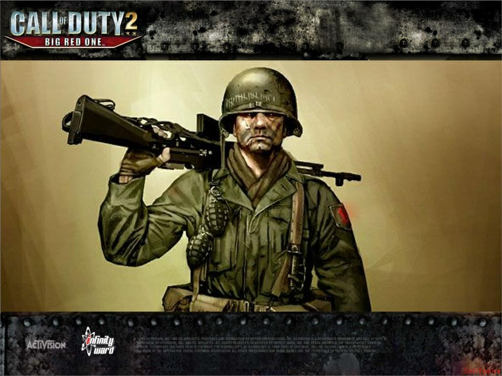 Call of Duty 2 Big Red One Wallpaper 47