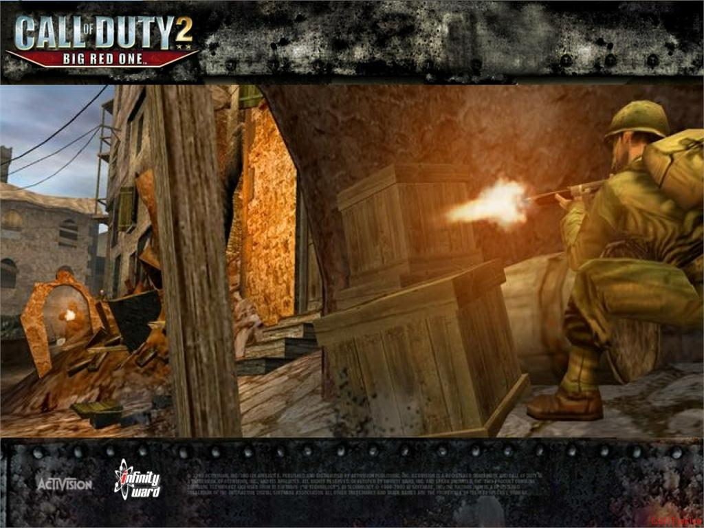 Call of Duty 2 Big Red One Wallpaper 48