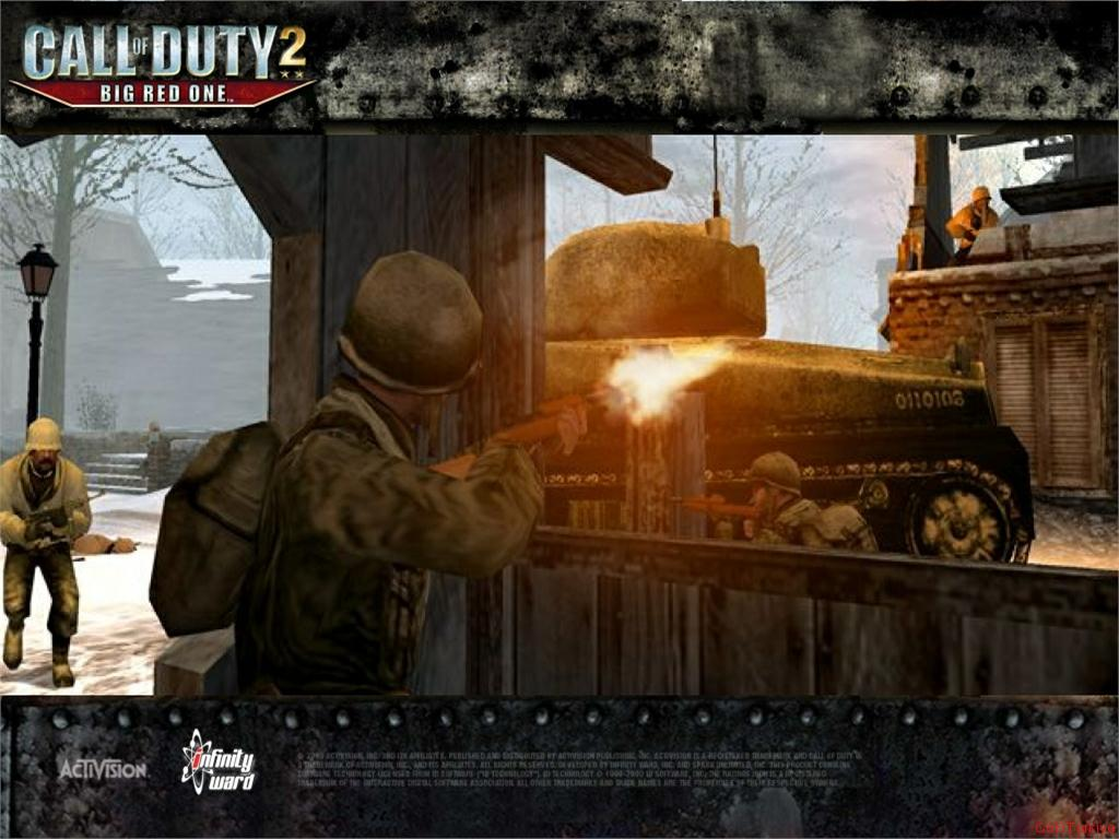 Call of Duty 2 Big Red One Wallpaper 49