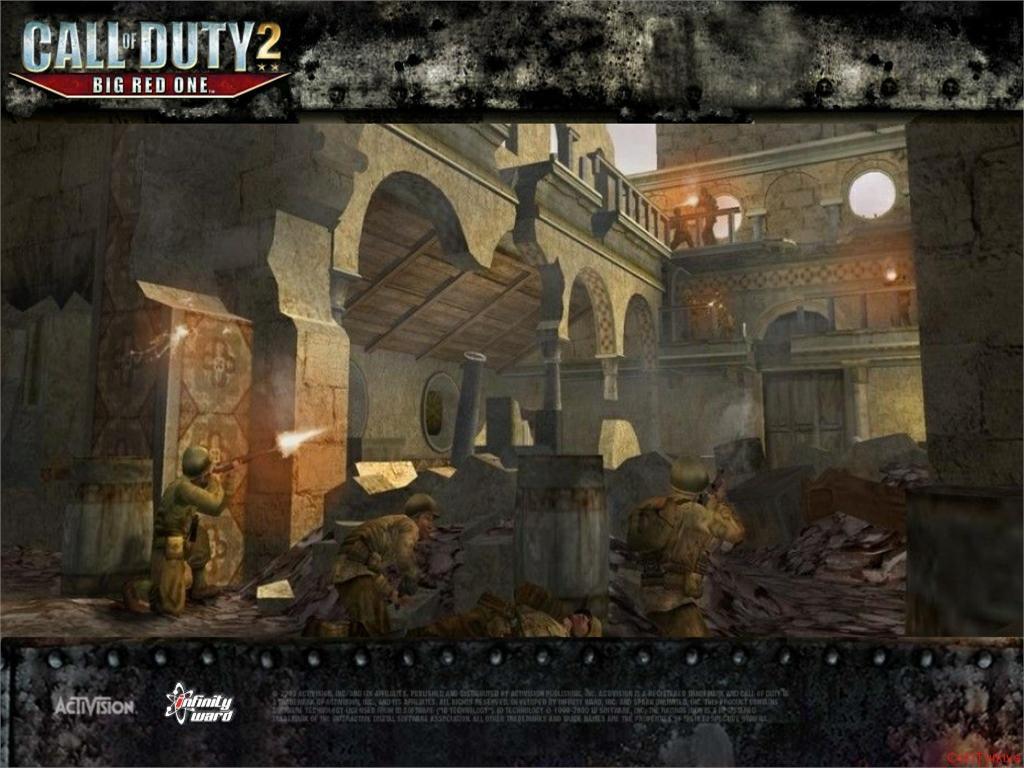 Call of Duty 2 Big Red One Wallpaper 5