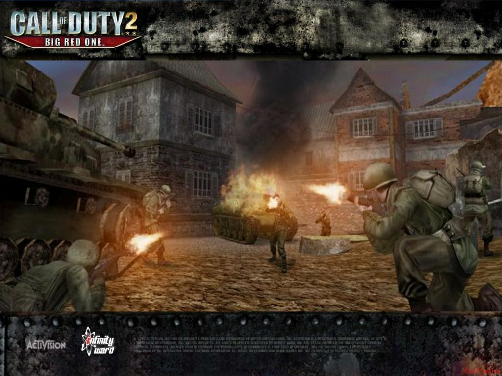 Call of Duty 2 Big Red One Wallpaper 51