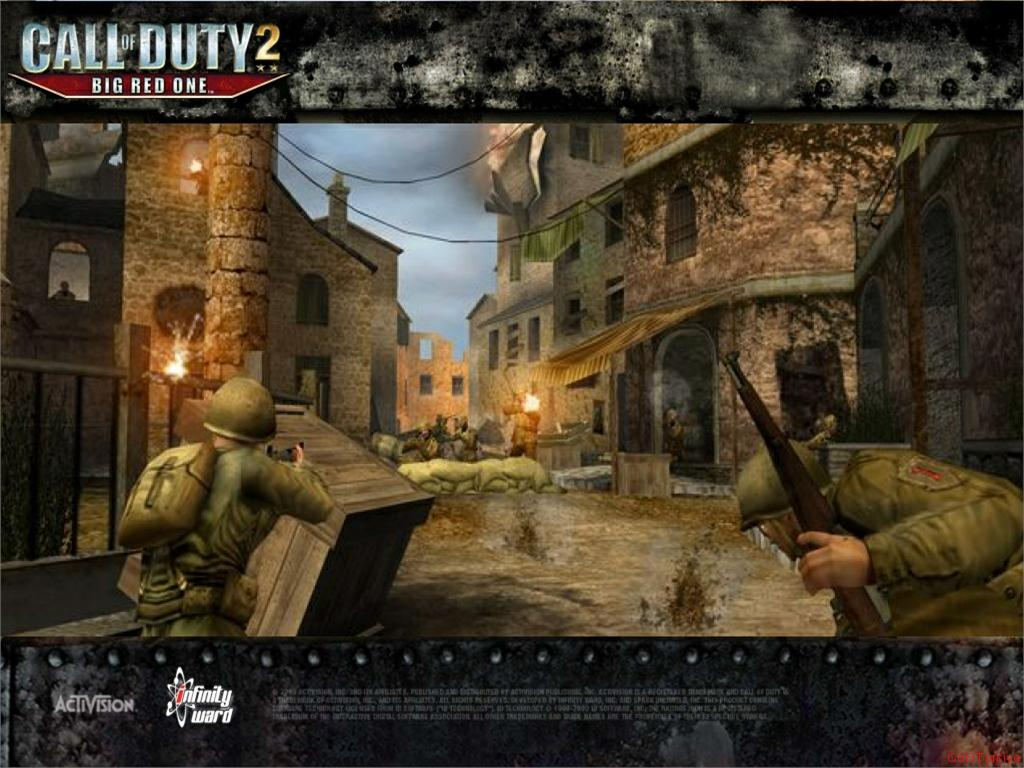 Call of Duty 2 Big Red One Wallpaper 52
