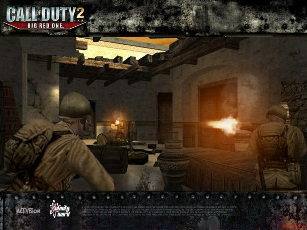 Call of Duty 2 Big Red One Wallpaper 53