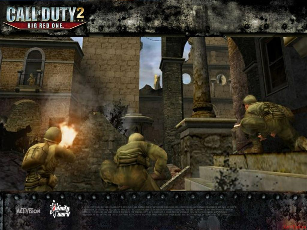 Call of Duty 2 Big Red One Wallpaper 54