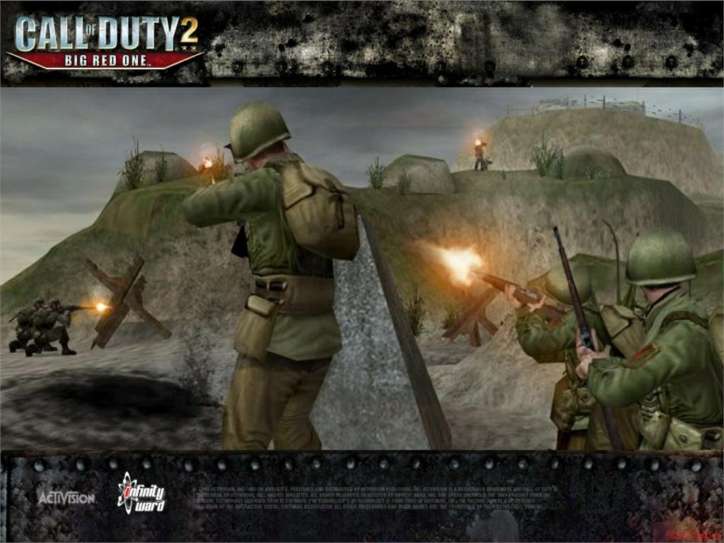 Call of Duty 2 Big Red One Wallpaper 55