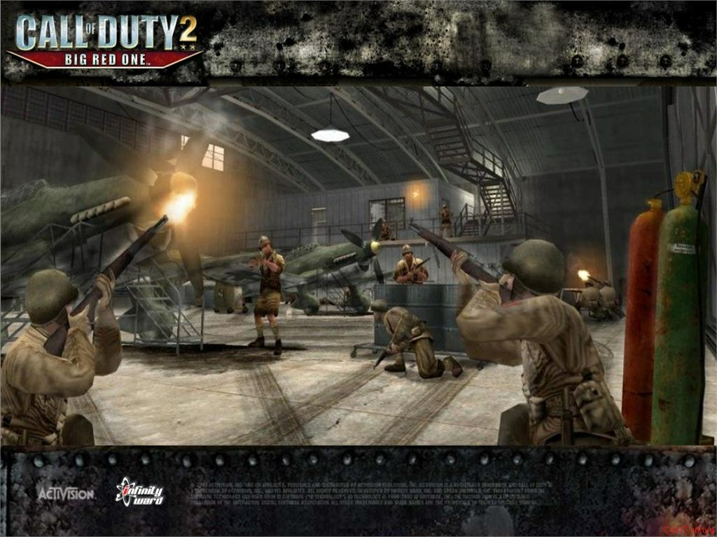 Call of Duty 2 Big Red One Wallpaper 6