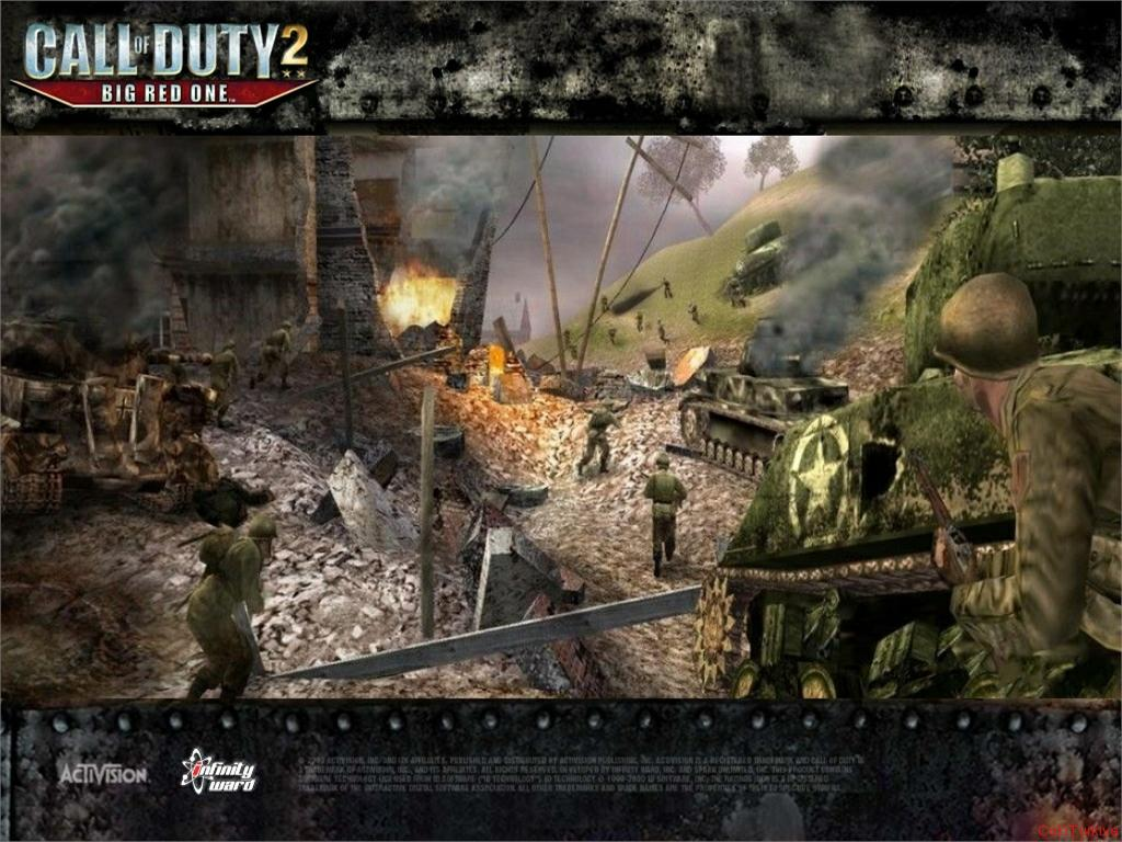 Call of Duty 2 Big Red One Wallpaper 7