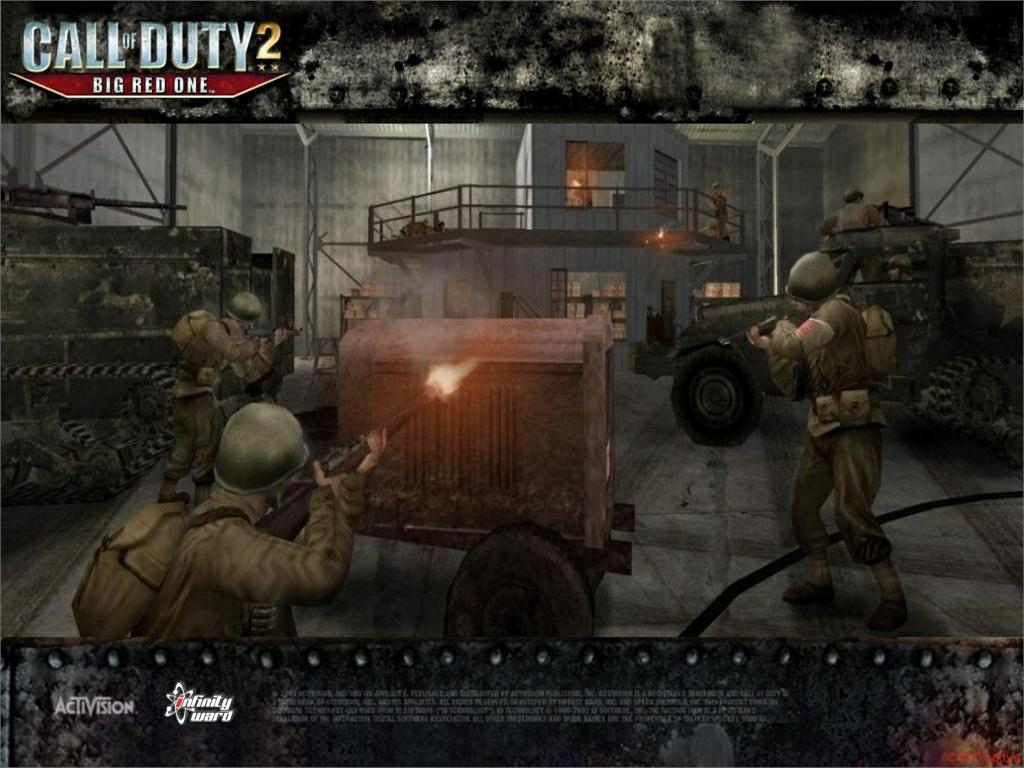 Call of Duty 2 Big Red One Wallpaper 8