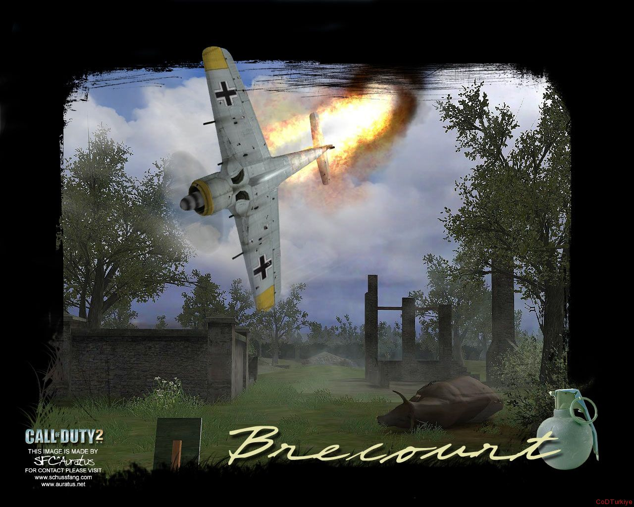 Call of Duty 2 Map Brecourt