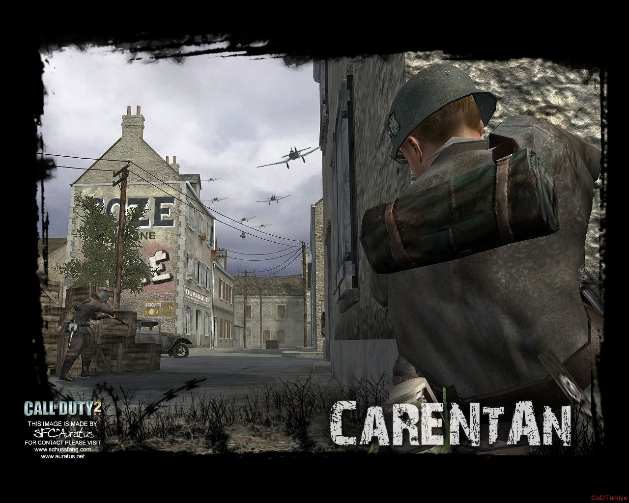 Call of Duty 2 Map Carentan
