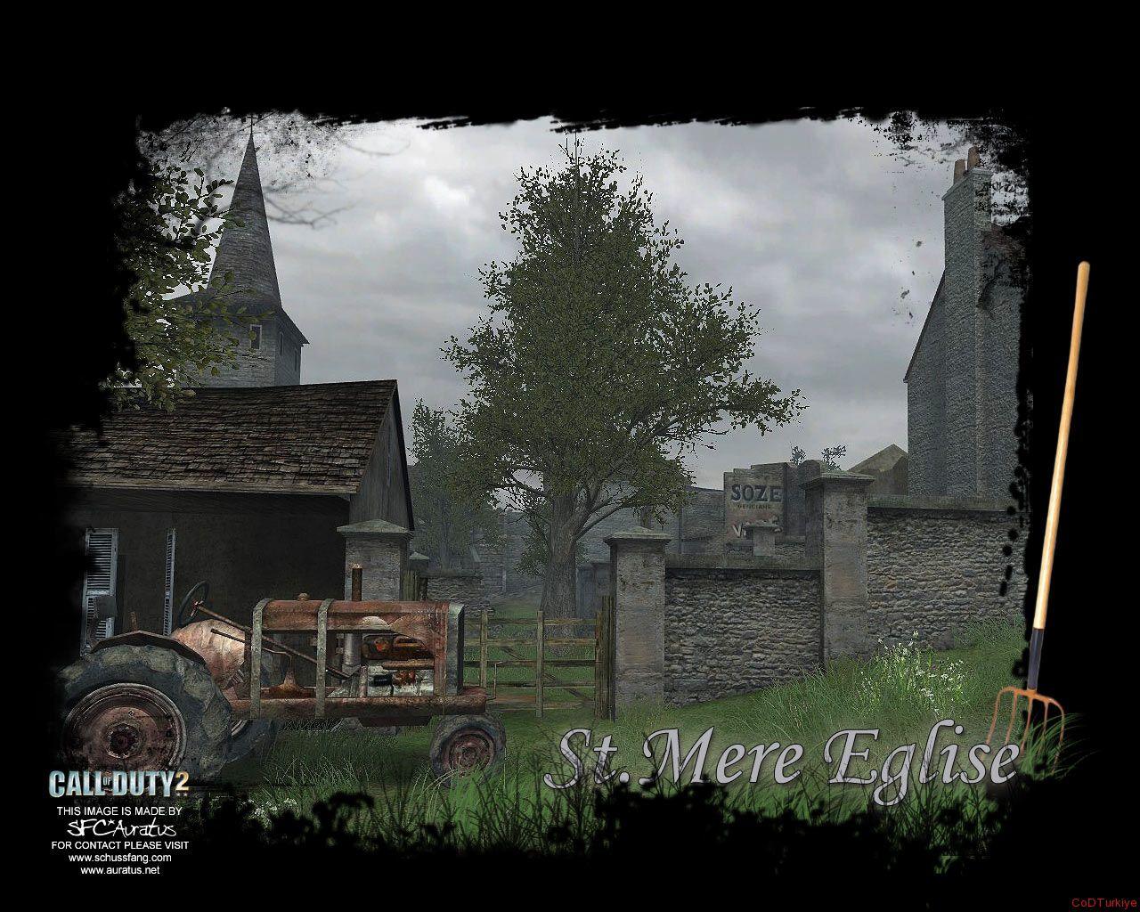 Call of Duty 2 Map Dawnville