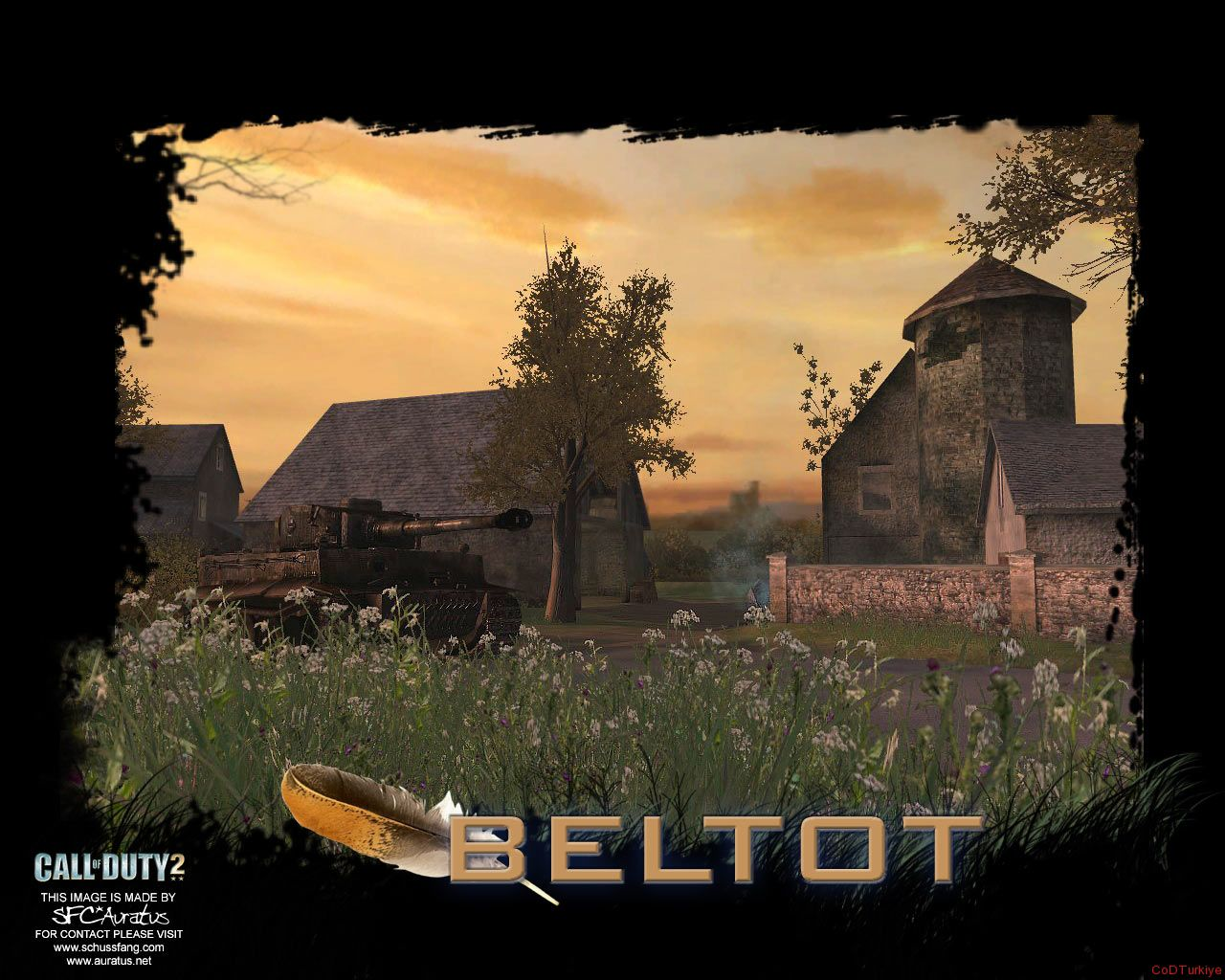 Call of Duty 2 Map Farmhouse