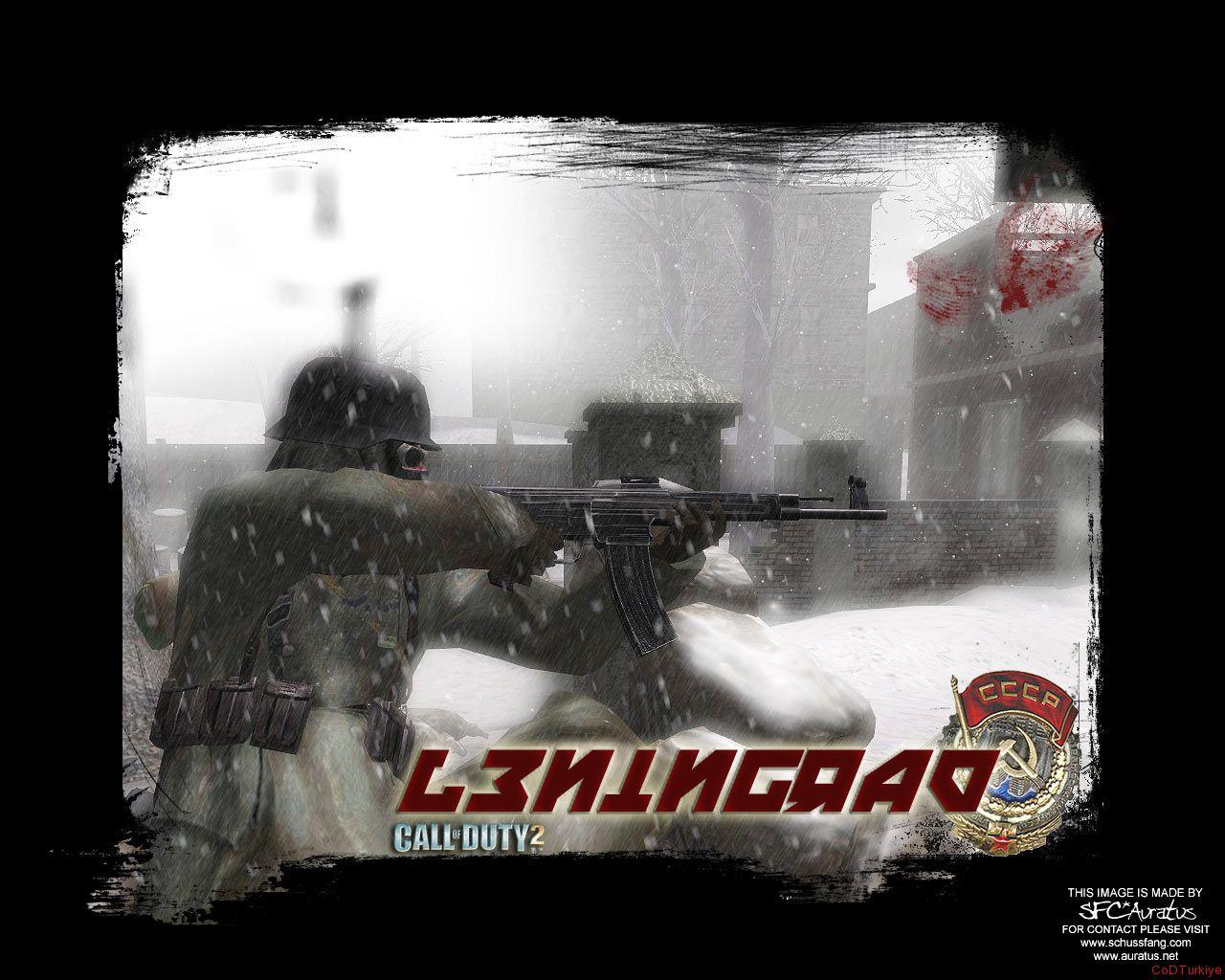 Call of Duty 2 Map Leningrad